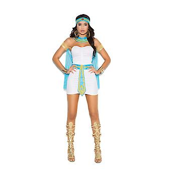 Elegant Moments Womens Queen Of The Nile Halloween Roleplay Costume