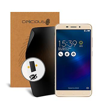 Celicious Privacy 2-Wege Anti-Spy Filter Screen Protector Film kompatibel mit Asus Zenfone 3 Laser ZC551KL