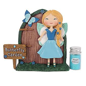 Something Different Amelia and Bluebell Fairy Door Gift Set