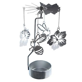 Bee and Flower Tealight Powered Spinner