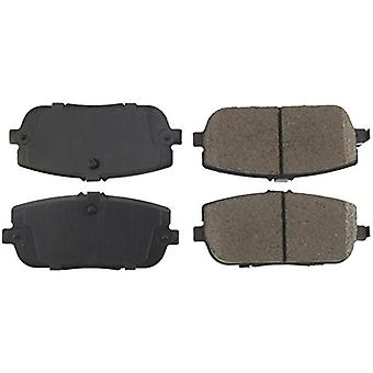 StopTech 308.11800 Street Brake Pad (Rear with Shims and Hardware), 5 Pack