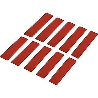 Conrad Components 1282797 Adhesive strips RTS Red (L x W) 100 mm x 25 mm 10 pc(s)