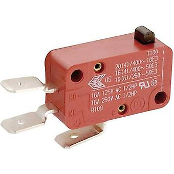 Marquardt Microswitch 01006.1011-01 400 V AC 10 A 1 x On/(On) momentary 1 pc(s)