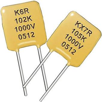 Kemet C320C104K1+ Ceramic capacitor Radial lead 100 nF 50 V 10 % 1 pc(s)