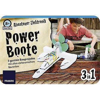 Monteringssats Franzis Verlag SmartKids Abenteuer Elektronik Power Boote 65212 8 år och över