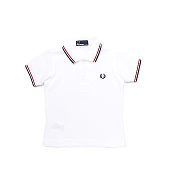 Fred Perry My First Fred Perry Boxed White Polo Shirt