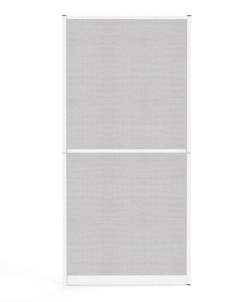 Porte moustiquaire prougeection insecte Kit 100 x 210 cm en marron