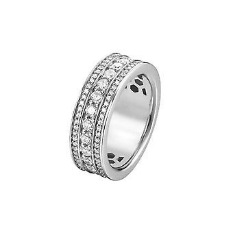 Joop kvinnors ring silver zirconia Kim JPRG90745A