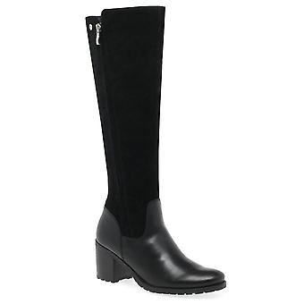 Caprice Robbins Womens Long Leather Boots