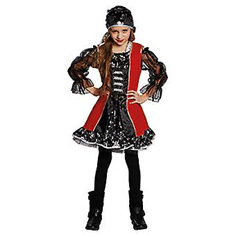 Lucy the pirate kids costume for girls Buccaneer