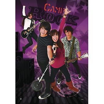 Affiche de Camp Rock Jonas Brothers & Demi Lovato