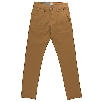Boys Slim Fit Tan Chinos  | Enzo Designer Boys Jeans