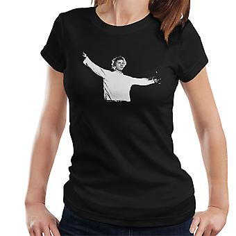 John Lydon Johnny Rotten Manchester Apollo 1986 Women's T-Shirt