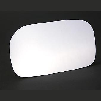 Left Stick-On Mirror Glass for Honda CIVIC VI Hatchback 2000-2006