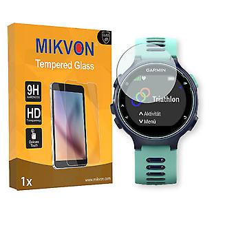 Garmin Forerunner 735XT Screen Protector - Mikvon flexible Tempered Glass 9H (Retail Package with accessories)