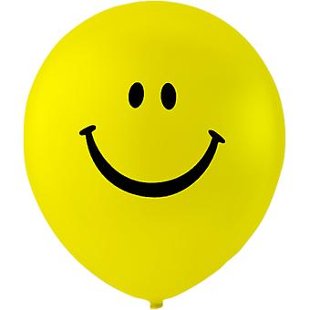 Ballonnen Smiley 6-pack-26 cm (10