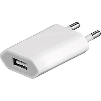 Apple universal charger adaptor charging plug EU MD813ZM/A A1400 bulk 5W white