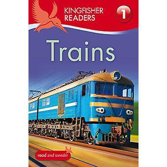 Martin-pêcheur lecteurs - Trains (niveau 1 - commence à lire) par Thea Feldm