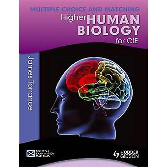 Higher Human Biology for CFE - Multiple Choice and Matching by Clare M