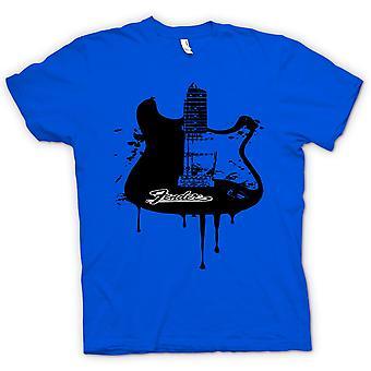 Kids t-shirt - Fender Strat - Grunge guitarra