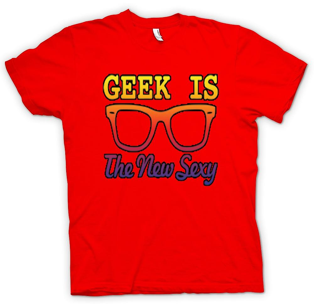 Mens T-shirt - Geek est le new Wayfarer Sexy