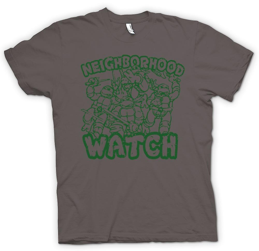 Womens T-shirt - Teenage Mutant Ninja Turtles - Neighborhood Watch