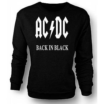 Womens Sweatshirt AC/DC Back In Black