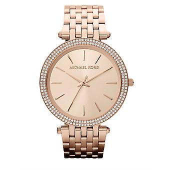 Darci relógio Michael Kors Ladies' - MK3192 - Champagne/ouro