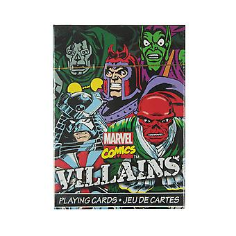 Marvel Villains Playing CardsMulticoloured