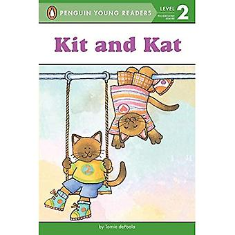 Kit and Kat (All Aboard Reading - Level 1)