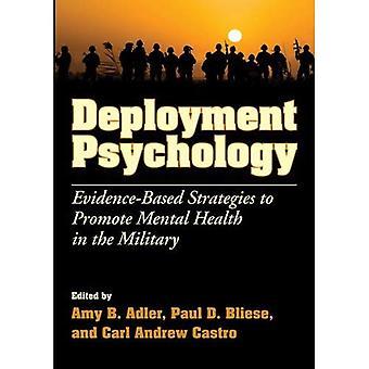 Bereitstellung Psychologie: Evidenzbasierte Strategien zur Förderung der psychischen Gesundheit im Militär