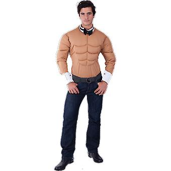Orion Costumes Hommes Homme Stripper Muscle Chest Top Rude Stag Do Fancy Dress