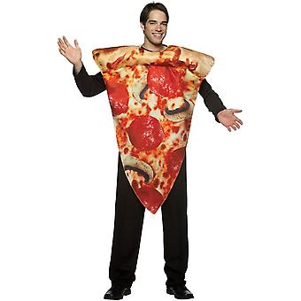 Costume adulto di fetta di pizza