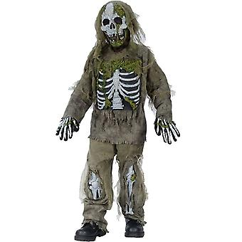 Dead Skeleton Kids Costume