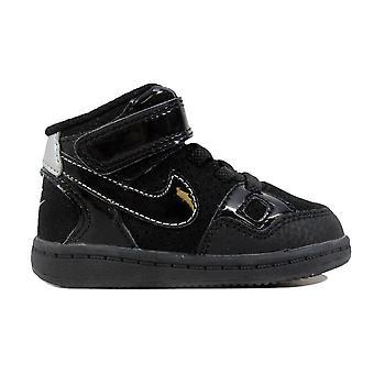 Nike sønn av makt midten av svart/Black-metallisk sølv 615162-007 pjokk