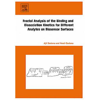 Fractal Analysis of the Binding and Dissociation Kinetics for Different Analytes on Biosensor Surfaces by Sadana & Ajit