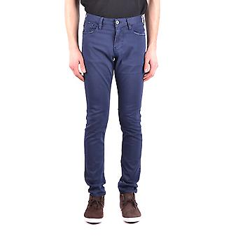 Armani Jeans Blue Cotton Jeans