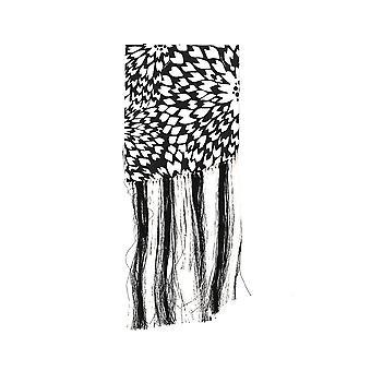 Missoni White/black Cotton Scarf