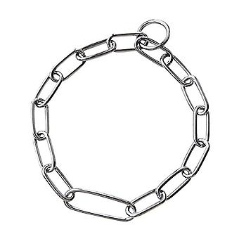 HS Sprenger Chrome Long Link Fixed Dog Collar