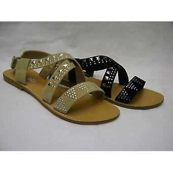 Ladies Spot On Sandals F0298