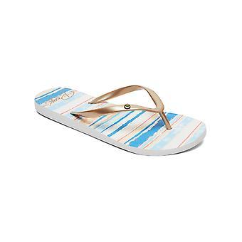 Roxy Womens Portofino II Flip Flops Casual Sandals - Blue Depths
