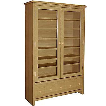 Montana - 409 Cd / 224 Dvd / Blu-ray / Video Media Storage Cabinet - rovere