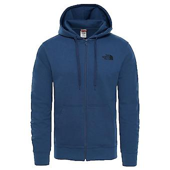 Il North Face cancello aperto Full Zip ala luce Hoodie Teal