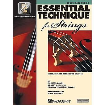 Essential Technique for Strings (Essential Elements Book 3) - Double B