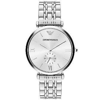 Emporio Armani Men's Classic Ar1819 Silver Stainless-steel Watch