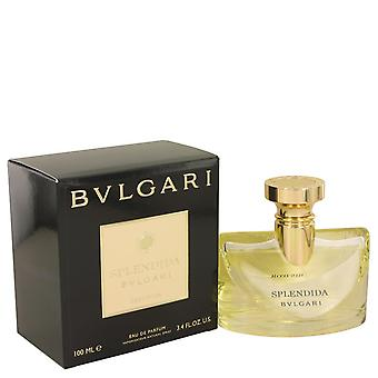 Bvlgari Splendida Iris D'or by Bvlgari Eau De Parfum Spray 3.4 oz / 100 ml (Women)