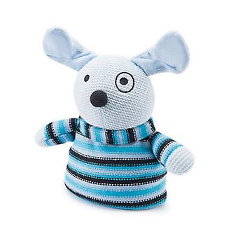 Knitted Animal Warmer Microwavable Toy: Dog