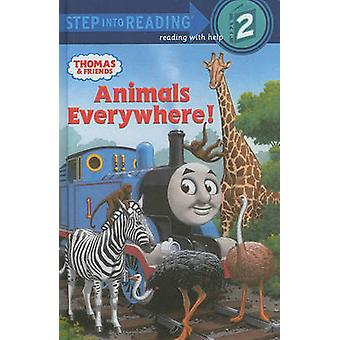 Animals Everywhere! by Wilbert Vere Awdry - Richard Courtney - 978060
