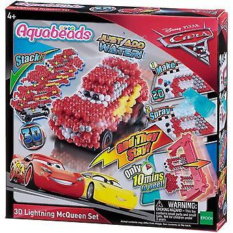 Aquabeads 3d Lightning Mcqueen Set #30198
