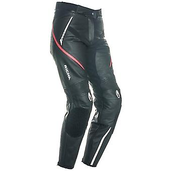 Richa Black-Pink Nikki Womens Motorcycle Leather Pants